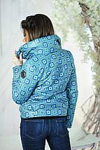 """Демисезонная женская куртка на синтепоне """"PP"""" с воротником стойкой, фото 3"""