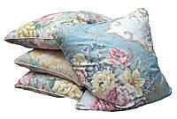 Подушка для сну 60х60 см (10% пух 90% гусяче перо)