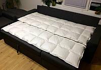 Наперник на полуторное одеяло из Германского Тика - 160х205 см
