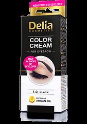 Краска для бровей и ресниц Delia Cosmetics Color Cream for eyebrow на 15 покрасок