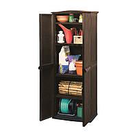 Ящик для хранения Keter Compact Garden Tall Shed, 430 л коричневый