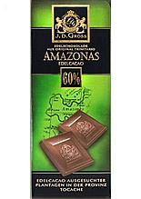 Шоколад J.D.Gross экстра чёрный 60% какао 125 г