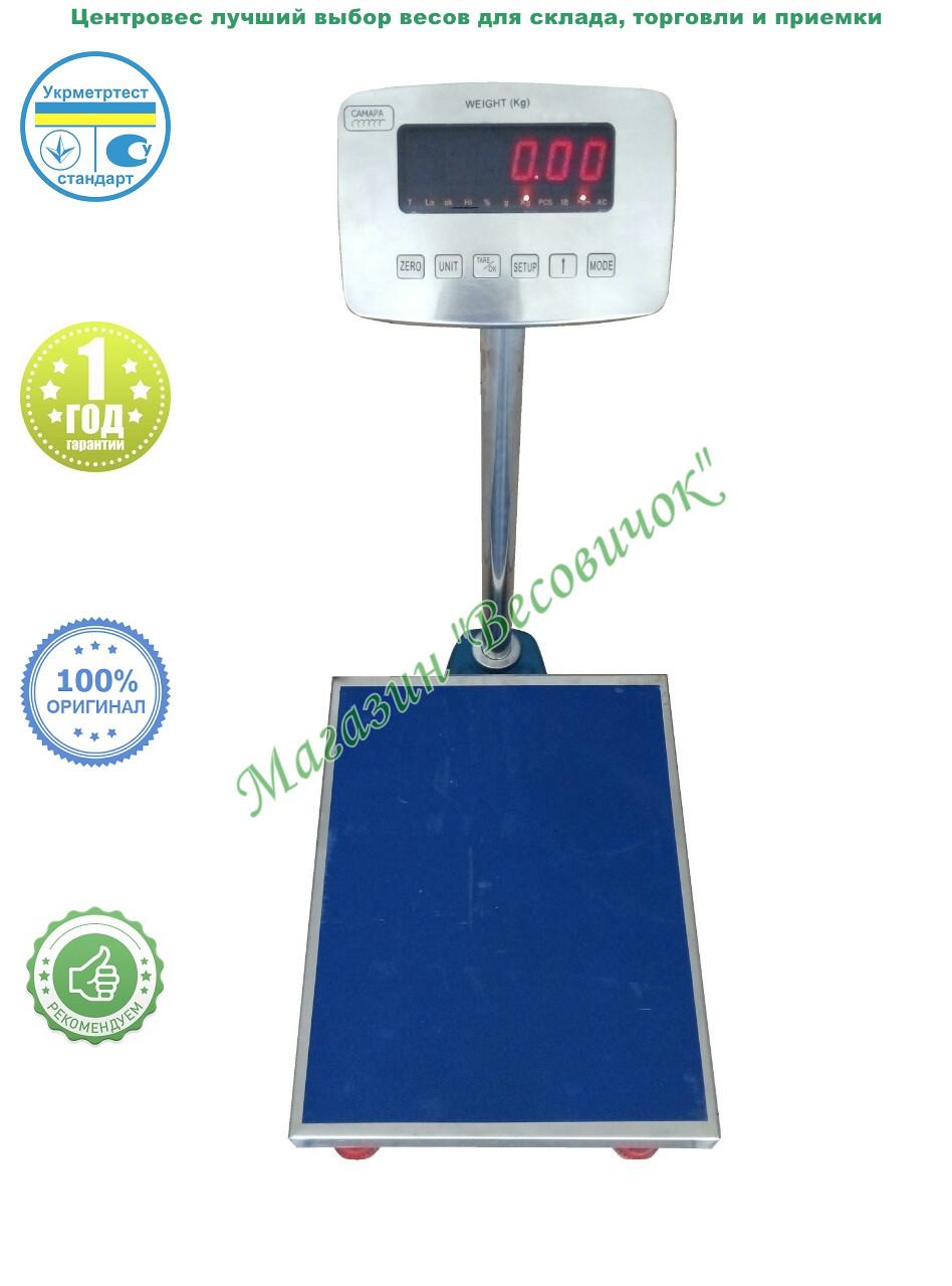 Товарные весы ВПЕ-Центровес-405-СМ1 60кг (400х500 мм)