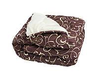 Одеяло полуторное из овечьей шерсти Лери Макс вензеля
