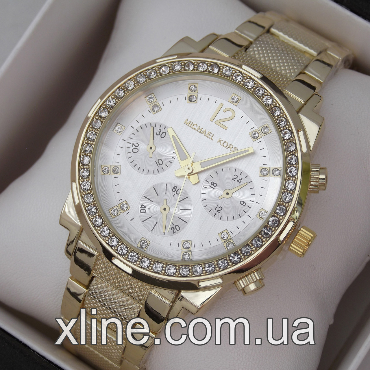 a581e200 Женские наручные часы Michael Kors MK-075 на металлическом браслете ...
