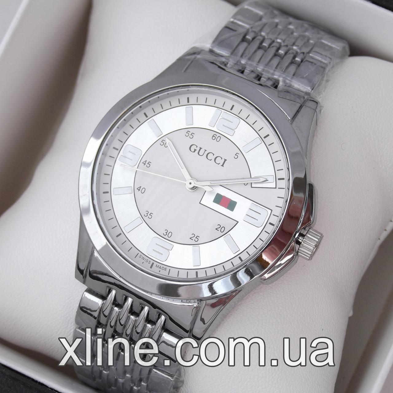 ca42a4cb95fb Женские наручные часы Gucci M130 на металлическом браслете: продажа, цена в  Харькове. ...