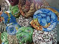 Одеяло полуторное из овечьей шерсти разные расцветки