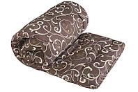 Ковдра двоспальне з подвійного силікону Лері Макс молочні завитки