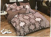 Двуспальное постельное белье Amika абстракция