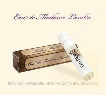 Пробник духов Eau de Madame Lambre женские