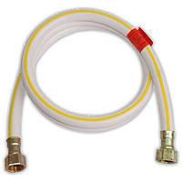 "Шланг для газа SD (резиновый белый) 1/2""х1/2"" 150 см."