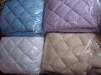 Полуторное одеяло из холлофайбера Лери Макс разные окрасы