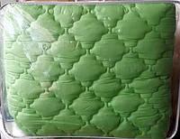Полуторное одеяло из холлофайбера Лери Макс зеленое