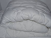 Полуторное одеяло из холлофайбера Лери Макс белоснежное