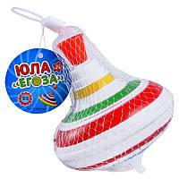 Юла заводная Егоза Детская музыкальная игрушка дзига 878-1A (0306)