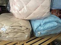 Теплое одеяло Евро размера из холлофайбера Лери Макс разные окрасы
