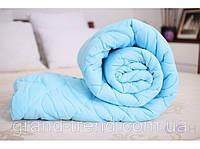Бамбукове двоспальну ковдру Лері Макс синього кольору