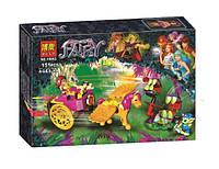 Конструктор Bela серия Fairy 10693 Побег Азари из леса гоблинов (аналог Lego Elves 41186)