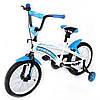Велосипед детский двухколесный 16 дюймов TILLY  flash 16 t-21642 blue