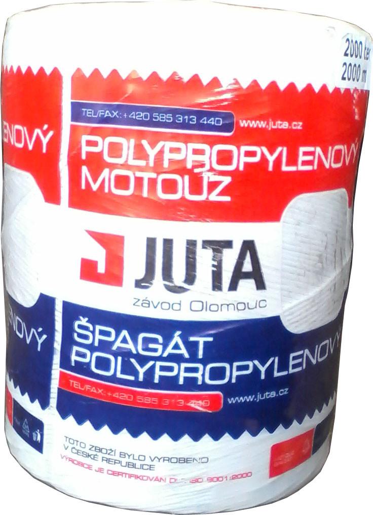 Шпагат поліпропіленовий тюковочный Juta