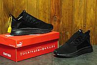 Мужские кроссовки Puma tsugi jun cubis  Топ качество! пума черные - Текстиль ,размеры:40-45 Вьетнам, фото 1