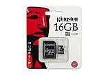 Карта памяти Kingston microSD 16 Gb+SD (SDC4/16GB), фото 3