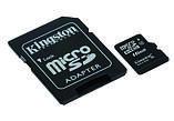 Карта памяти Kingston microSD 16 Gb+SD (SDC4/16GB), фото 2