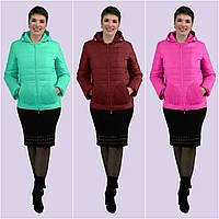 Женская демисезонная куртка. Модель 165. Размеры 44-58 58