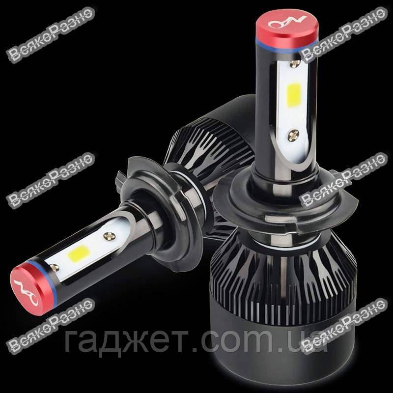 Лампы в авто НАО H7. Автомобильные светодиодные лампы НАО H7.