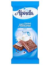 Шоколад Alpinella Mleczna молочный 90г