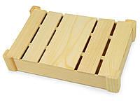Подарочная деревянная коробка, натуральный (625044_OS)