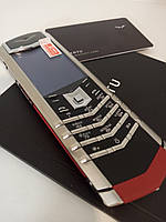 Мобильный телефон Vertu. VERTU SIGNATURE S DESIGN STAINLESS STEEL SCARLET