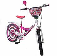 Велосипед детский двухколесный 20 дюймов TILLY Автоледи 20 T-22028 crimson white 20 T-22028 crimson white