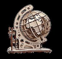 Механический конструктор из дерева MrPlaywood «Глобус» | 3D-пазл
