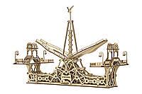Механический конструктор из дерева MrPlaywood «Пешеходный мост» | 3D-пазл