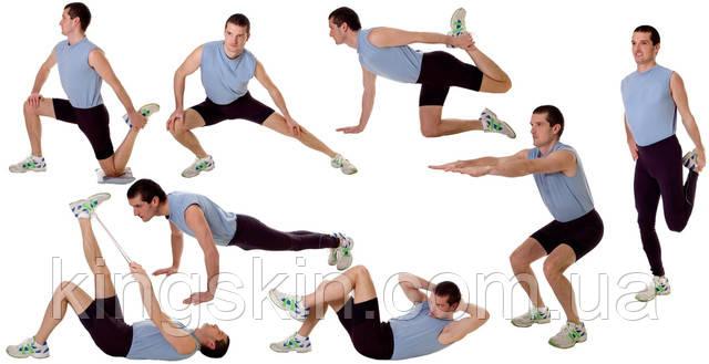 физические упражнение чтобы похудеть
