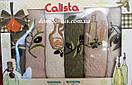 """Набор вафельных кухонных полотенец """"Олива"""" 40*60 см, Calista 6 шт., Турция 011"""
