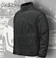 Толстовка флисовая черная Sherpa. Кофта тактическая полиции