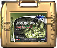MPM Motor Oil Premium Synthetic Fuel Conserving Ford 5W-30 синтетическое моторное масло, 20 л (05020E)