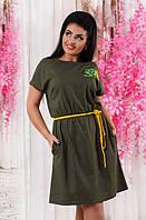 Платье льняное ботал  д1255, фото 1