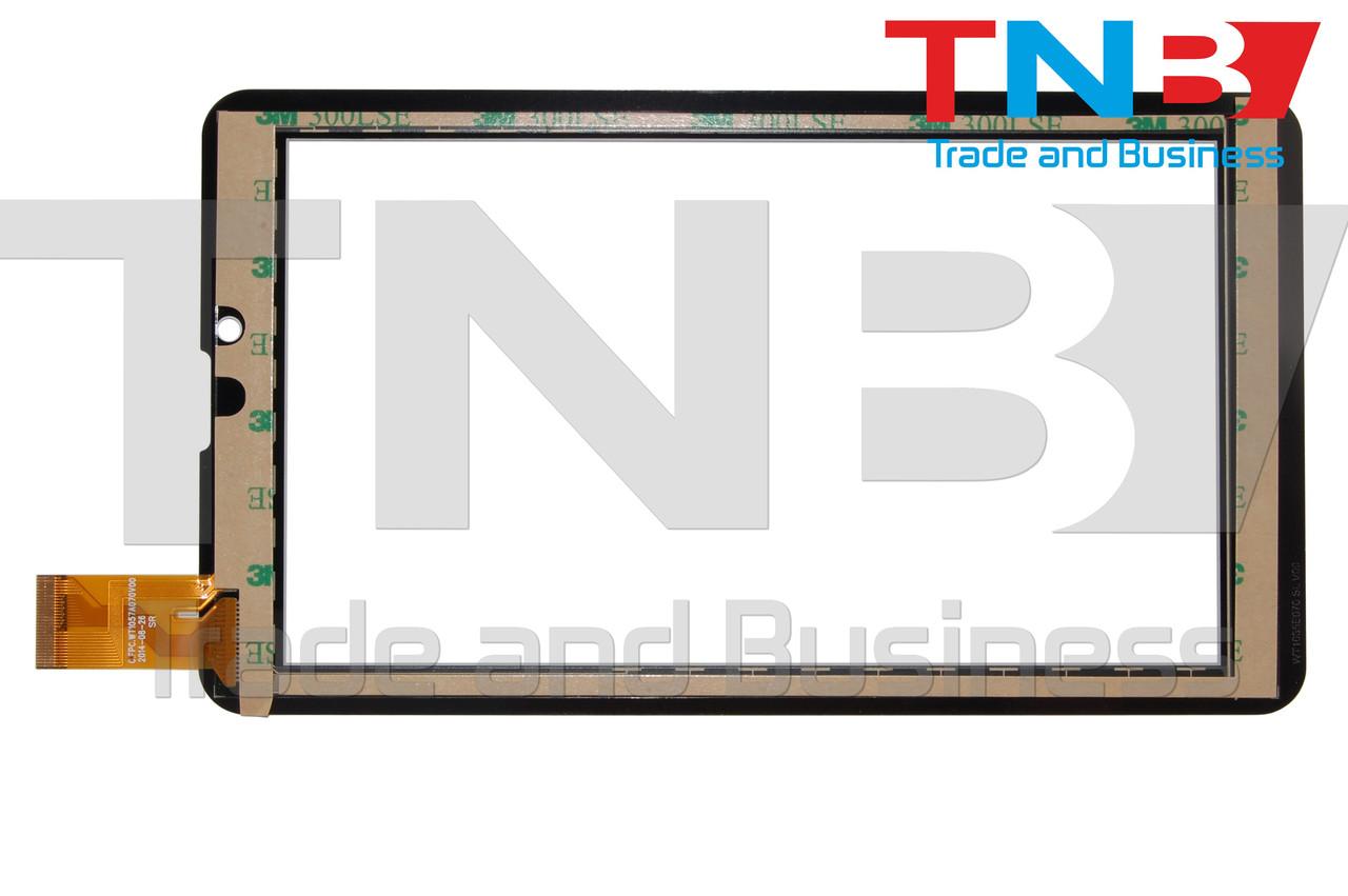 Сенсор 184x104mm 30pin XC-PG0700-024-A2 БЕЛЫЙ