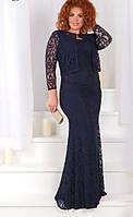 Платье + болеро батал  с430-1, фото 1