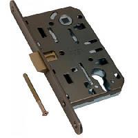 Замки для межкомнатных дверей врезной AGB Mediana Evolution PZ 18/96, бронза