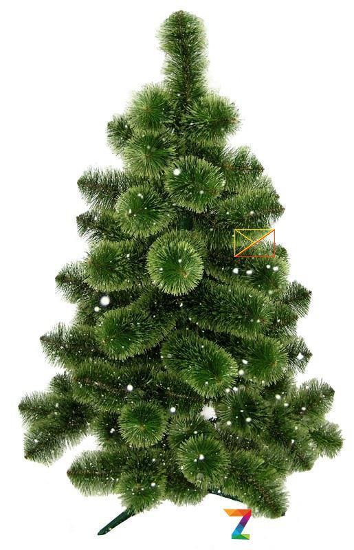 Новогодняя елка Сосна искусственная Пушистая 1,8 м (180 см)