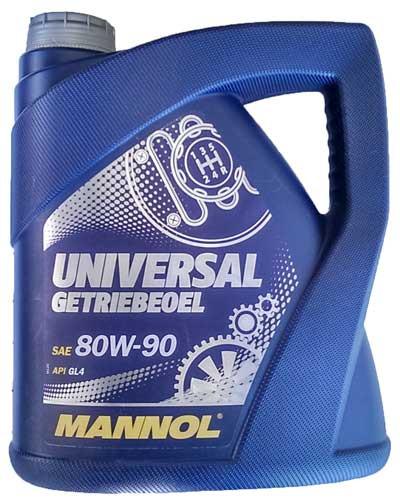 Трансмиссионное масло Mannol 80w90 GL4 4л