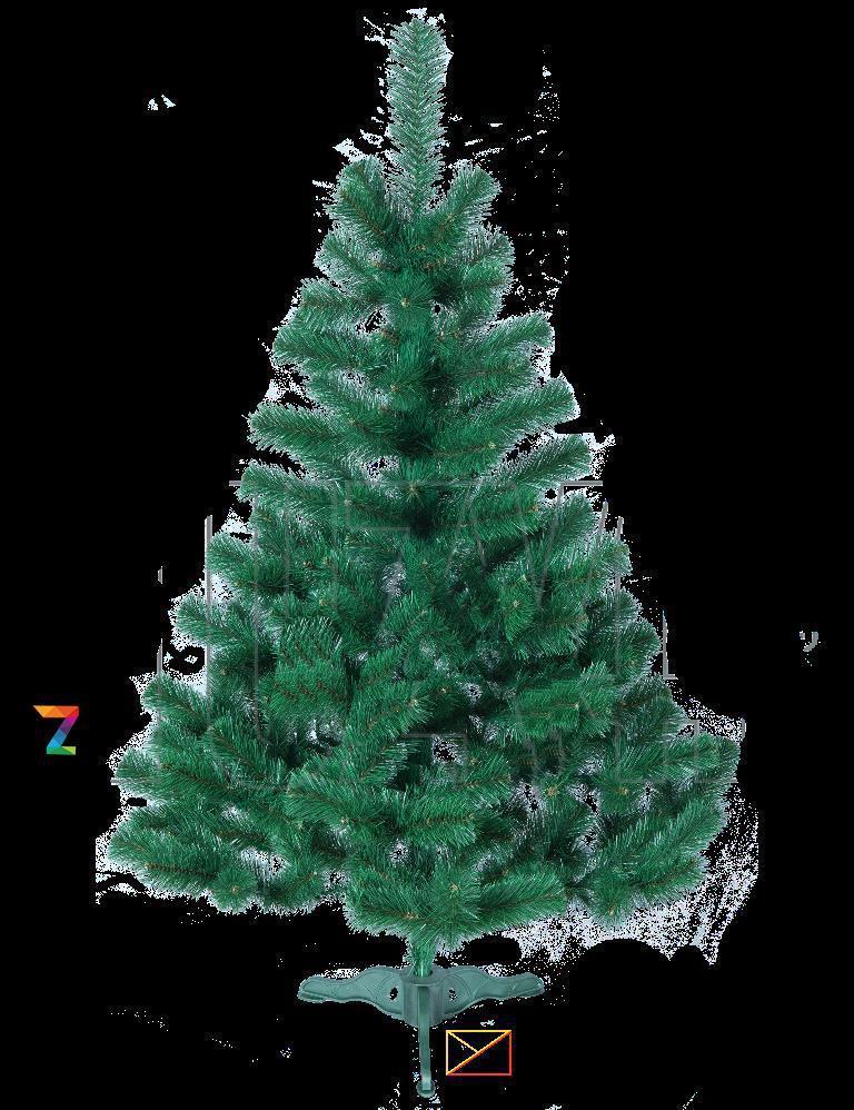 Елка искусственная новогодняя ПВХ 1,5м (150см)