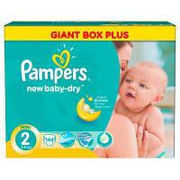 Подгузник Pampers New Baby-Dry Упаковка 144 шт (4015400737193)