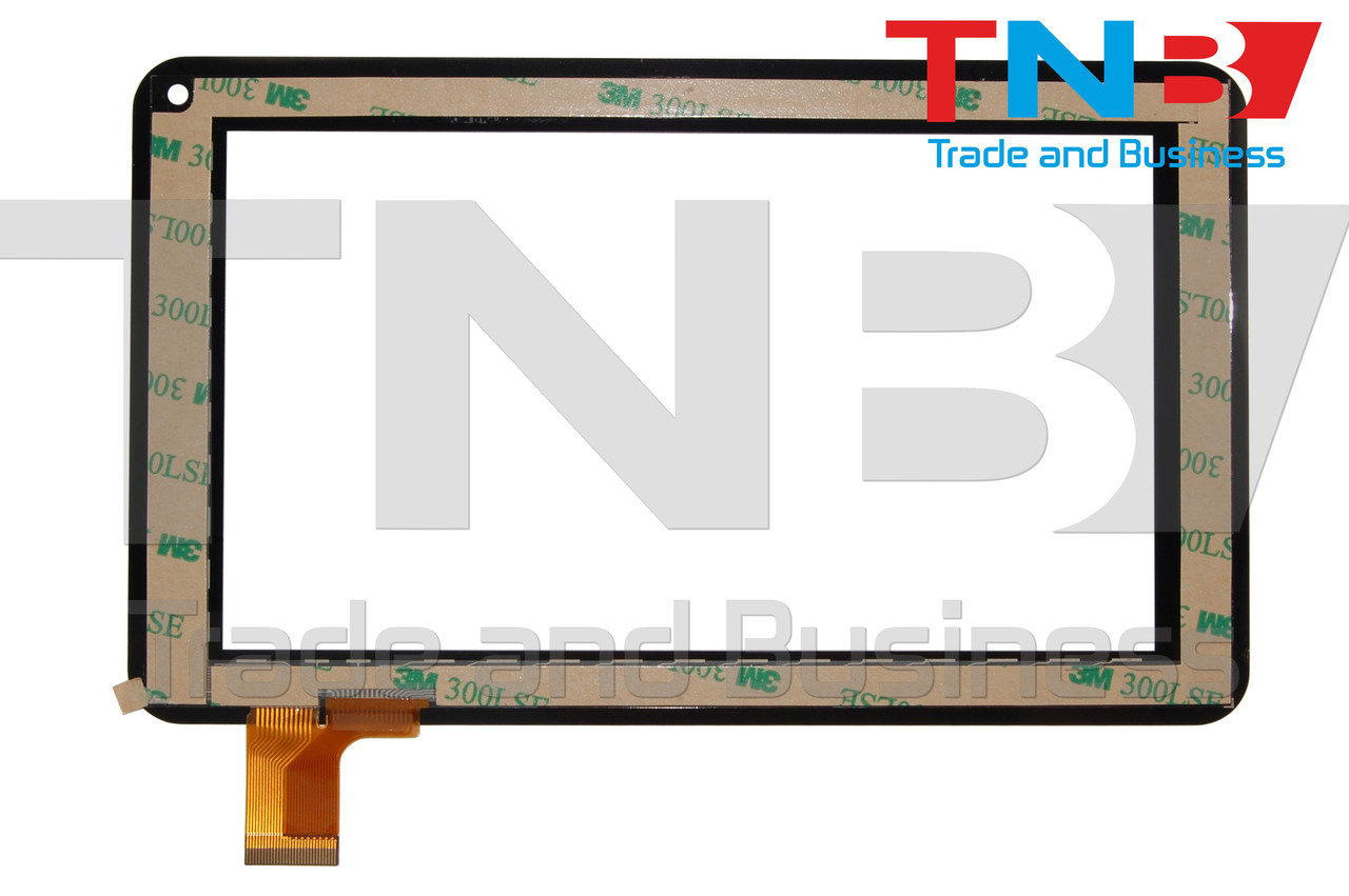 Сенсор 186x111mm FPC-TP070129(86VS)00 Черный