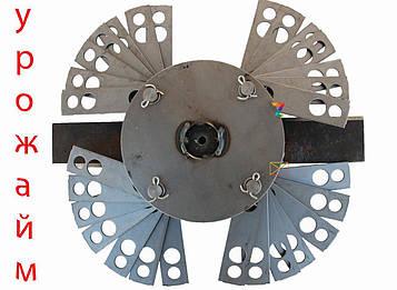 Ротор в сборе с бичами на кормоизмельчитель 'Урожай-М'.
