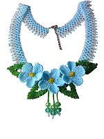 Ожерелье Лето (Бусы из бисера)